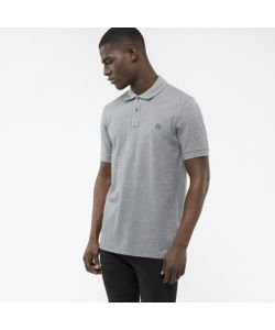 Paul Smith | Mens Light Embroide Ps Logo Organic-Cotton Polo Shirt