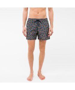 Paul Smith | Spotted Paisley Print Swim Shorts