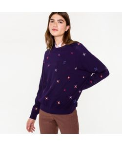 Paul Smith | Sweater With Embroidered Stars
