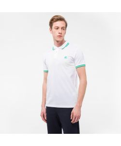 Paul Smith   Slim-Fit Ps Logo Polo Shirt With Tipping