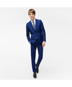 Paul Smith | The Soho Tailored-Fit Wool-Mohair Suit To Travel In