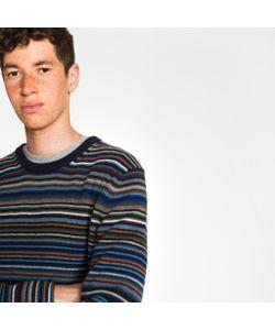 Paul Smith   Multi-Stripe Merino Wool-Blend Sweater