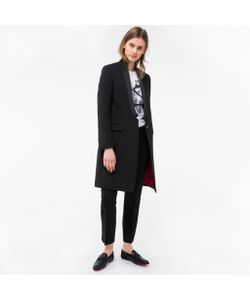 Paul Smith | Womens Musical Note Jacquard Coat