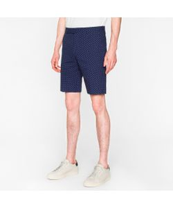 Paul Smith | Spotted Seersucker Shorts