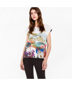 Paul Smith   Sleeveless T-Shirt With Coastal Print