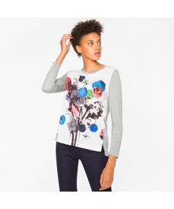 Paul Smith | Long-Sleeve T-Shirt With Abstract Print