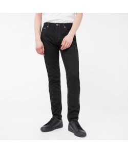 Paul Smith   Slim-Fit Stretch-Denim Jeans With Peace Stitch Detail