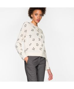 Paul Smith | Cardigan With Flocked Stars