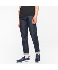 Paul Smith | Tapered-Fit 14oz 4-Way Stretch Denim Mid-Wash Jeans