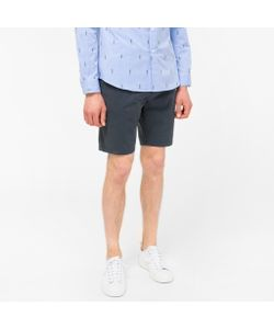 Paul Smith | Washed Garment-Dyed Stretch Pima-Cotton Shorts