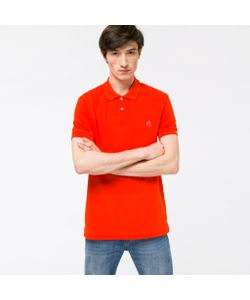 Paul Smith | Mens Ps Logo Organic-Cotton Polo Shirt
