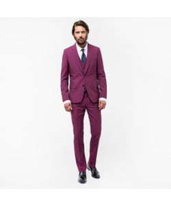 Paul Smith | A Suit To Travel In Tailored-Fit Wool-Mohair Three-Piece