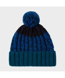 Paul Smith | Twisted-Yarn Cable Knit Bobble Hat