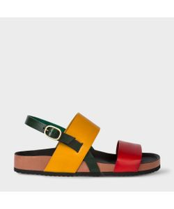 Paul Smith | Colour-Block Calf Leather Syd Sandals