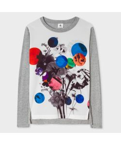 Paul Smith   Long-Sleeve T-Shirt With Abstract Print
