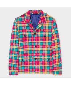 Paul Smith | Four Pocket Madras Check Field Jacket