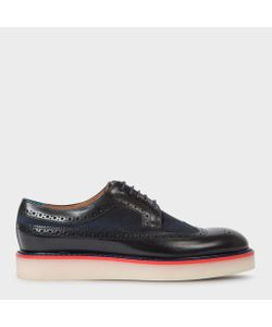 Paul Smith | Leather And Canvas Maddie Brogues