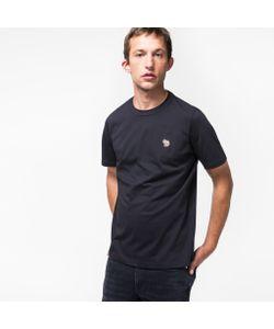 Paul Smith | Mens Organic Zebra Logo T-Shirt