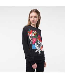 Paul Smith   Womens Sweatshirt With Photo- Print