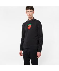 Paul Smith | Strawberry Skull Loopback Sweatshirt