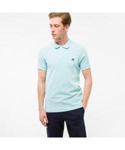 Paul Smith   Embroide Ps Logo Organic-Cotton Polo Shirt