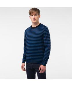Paul Smith   Mens And Breton-Stripe Merino Wool Sweater