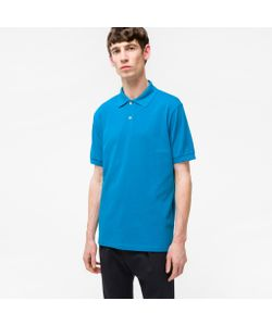 Paul Smith | Cotton-Piqué Polo Shirt With Artist Stripe Placket