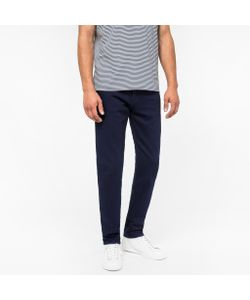 Paul Smith | Tapered-Fit Over-Dyed Wash Stretch Jeans