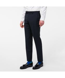 Paul Smith | Mens Slim-Fit Wool And Mohair-Blend Trousers