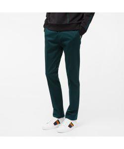 Paul Smith | Mens Slim-Fit Dark Stretch-Cotton Twill Trousers