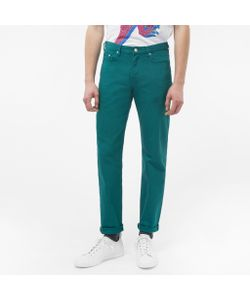 Paul Smith | Tapered-Fit Sea Garment-Dyed Jeans