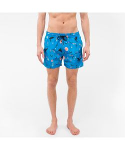Paul Smith | Mixed Charm Print Swim Shorts