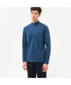Paul Smith | Half-Zip Loopback-Cotton Sweatshirt