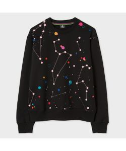 Paul Smith   Milky Way Print Sweatshirt With Embroidery