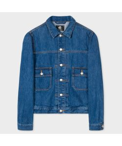 Paul Smith | Menswash Pleat-Front Denim Jacket