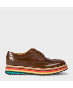 Paul Smith | Leather Grand Brogues With Artist Stripe Soles