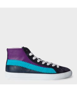 Paul Smith | Leather And Suede Lynn Trainers