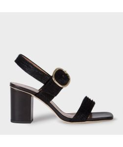 Paul Smith | Embossed Calf Hair Roz Heeled Sandals