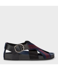 Paul Smith | Ray Sandals With Striped Webbing