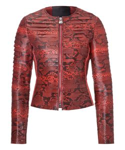 Philipp Plein | Leather Jacket Snake