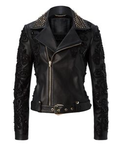Philipp Plein   Leather Jacket Widow