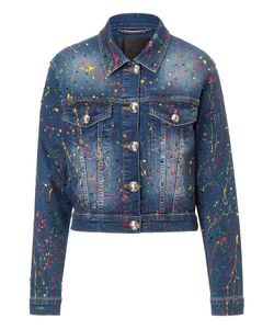 Philipp Plein | Denim Jacket Amaranto