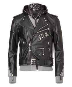 Philipp Plein | Leather Moto Jacket Needed