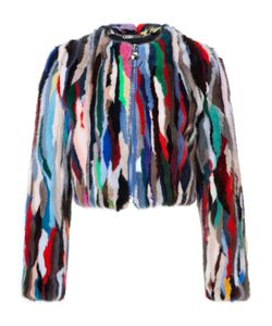 Philipp Plein | Fur Jacket Rainbow