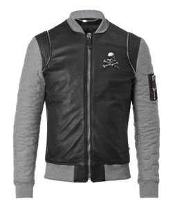 Philipp Plein | Leather Bomber Tribal