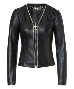 Philipp Plein | Leather Bolero Shanna