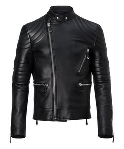 Philipp Plein | Leather Biker Bitter