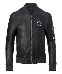 Philipp Plein | Leather Bomber Creep