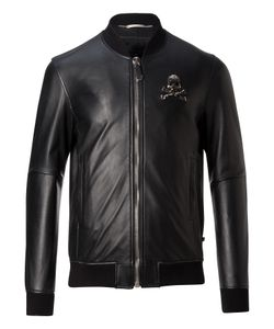 Philipp Plein | Leather Bomber No Light