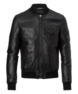 Philipp Plein | Leather Bomber Match